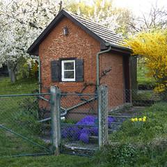 """1-Zimmer """"Appartment"""" (Feinblick) Tags: hütte häuschen gartenhaus metzingen ermstal schwäbischealb badenwürttemberg gütle"""