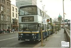 Throwback Thursday (67) (Csalem's Lot) Tags: 45 1995 scan rh147 leylandolympian olympian rh dublin dublinbus bus edenquay throwbackthursday
