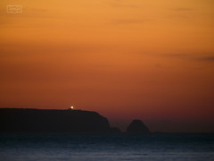 Cuando no hay esperanza/ When there is no hope (Jose Antonio. 62) Tags: costa coast lighthouse faro cabo cape dusk anochecer sea mar