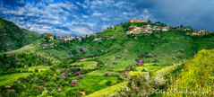Φανάρι Καρδίτσας Fanari Krditsa panorama (Dimitil) Tags: landsape nature spring castle thessaly karditsa fanari greece hellas tree stonevillage rural