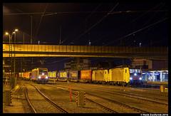 TX Logistik 189 931 + 189 989, Kufstein 08-11-2016 (Henk Zwoferink) Tags: kufstein tirol oostenrijk txl tx logisik 189 931 989 siemens br189 es64f4 eurosprinter padborg verona 186 287 lomo lokomotion rtc rail traction company