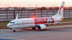 CN-RGK - Boeing 737-8B6 - LHR (Seán Noel O'Connell) Tags: royalairmaroc ram cnrgk boeing 7378b6 737 738 heathrowairport lhr egll cmn gmmn 27r at800 ram800f marrakech2016unclimatechangeconference