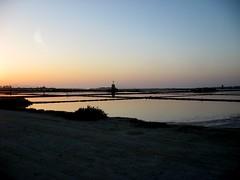 Saline (Tramonto) - Marsala (dona(bluesea)) Tags: tramonto sunset saline marsala sicilia sicily italia italy