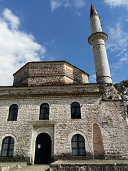 The facade of the mosque of Asllan Pasha in Ioannina (Kevin Jasini) Tags: janine greqi janina ioannina greece ottoman mosque architecture