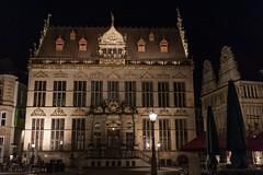 Bremen - Marktplatz (snoopsmaus) Tags: bremen deutschland germany hanseatic architecture city night nightphotography