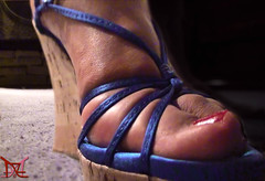 Suck My Big Toe (Claudio (Tania Zandalz - wife)) Tags: high heels shoes mature sexy latina kapikua1 female woman wife amateur mexico feet toes nail polish pedicure arch strappy wedges platform tacones altos zapatos madura femenina mujer esposa pies dedos barniz uñas arco tiras cuñas plataforma