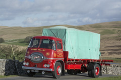 SJL 660  ERF KV  F.R. Somerset  Road Run (wheelsnwings2007/Mike) Tags: sjl 660 erf kv fr somerset road run 19th kirkby stephen brough classic commercial vehicle rally 2017 cumbria