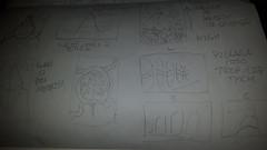 March Concept Development (doodlemandrill) Tags: doodle pencil sketch moleskine thumbnails concepts