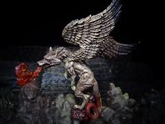 Marchosias (ridureyu1) Tags: marchosias demonschronicle demon devil yanoman arsgoetia goeticdemons dictionnaireinfernal hellish jfigure toy toys actionfigure toyphotography sonycybershotsonycybershotdscw690