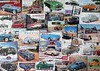 Motoring Memories (pefkosmad) Tags: jigsaw puzzle hobby leisure pastime gibson motoringmemories cars autos automobiles motorcars motoring nostalgia 1000pieces missingpiece art advertising adverts advertisements 1950s