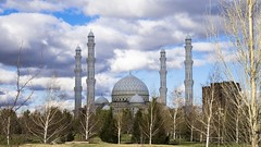Hazrat Sultan Mosque (Aitor Montaña) Tags: kazakhstan mosque astana