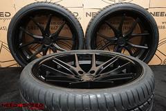 ferrada-fr2-matte-black-6341-07 (Need_4_Speed Motorsports) Tags: ferrada fr2 matte black wheels hankook rims wheel