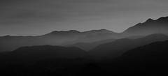 Cajon Pass Mountains (Foto-Mike) Tags: canon eos 50d inlandempire cajonpass mountains blackandwhite layers california southern