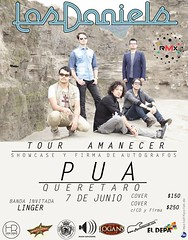 Los Daniels (Music Blitz!) Tags: los flyer 7 daniels showcase junio pua 2013