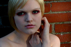 9 (RebeccaLynnPhotography8) Tags: pink portrait female photoshop makeup cannon expressive editing piercings artistry