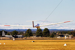 Richmond gliding 19May2013 (cupra1) Tags: richmond gliding glider raaf sailplanes astir