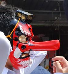 Tokyo 002 (ND Fotografo Freelance) Tags: face japan nose mask nicola nd carnevale giappone maschera freelance naso volto ndfreelance