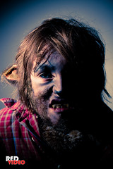 2010 Rigg Wolf (RedVideo) Tags: portrait halloween werewolf utah costume makeup davidrowan redvideo