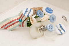 beach theme wedding button boutoniere, buttonhole (pumpkin and pye) Tags: beach buttons corsage buttonhole beachwedding boutoniere beachthemebuttonhole