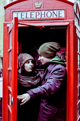 London calling. (wentuq) Tags: uk london telephone telephonebox telephonebooth gosia londyn telephonekiosk publiccallbox budkatelefoniczna telephonecallbox