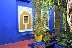 Marrakech (Maroc) - Jardin Majorelle - Muse berbre (Morio60) Tags: jardin maroc marrakech majorelle