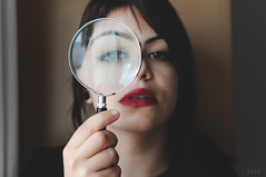 Busquemos algo en comn, busquemos nuestro final. (BHF Photography) Tags: portrait woman selfportrait me girl face self ego myself mujer