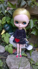 Paige and the duck