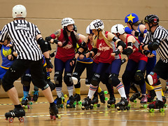 """Stockholm BSTRDs vs. Dock City Rollers-14 • <a style=""""font-size:0.8em;"""" href=""""http://www.flickr.com/photos/60822537@N07/8996353460/"""" target=""""_blank"""">View on Flickr</a>"""