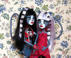 (Talary Mars) Tags: monster high matilda murka purrsephone meowlody