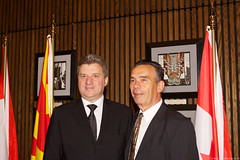 LSP Macedonian President (218) (Bruce MacRae) Tags: centre ottawa president arts macedonia reception national fraser lois macrae highlanders 78th siegel ivanov gjorge