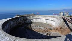 Levant Battery, Upper Rock, Gibraltar (Mosh70) Tags: gun artillery fortifications gibraltar 92inchcoastaldefencegun levantbattery fortressofgibraltar
