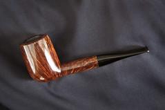 Peter Klein of Denmark pipe (seaphotos) Tags: denmark klein pipe smoking peter tobacco briar pipemaker