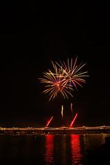 DSC_2798 (georgerocheleau) Tags: arizona reflection water night fireworks celebration 4thofjuly tempe millavenue tempetownlake