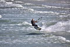 Kitesurfing (Ningaloo.) Tags: pembroke kitesurfing guernsey
