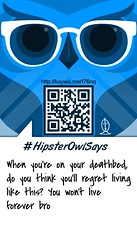 Hipster Owl (McShaun) Tags: church design marketing graphicdesign christian
