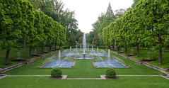 Fountain (Dave Fine) Tags: longexposure flowers nature garden pennsylvania pa longwoodgardens