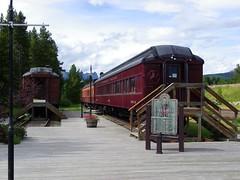 Lake Louise Train Station (KiwiHugger) Tags: trainstation lakelouise historicbuildings