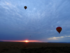 DSC00690 (H Sinica) Tags: balloon safari hotairballoon savanna masaimara maasaimara marariver