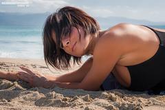 Michela (Nico Massa Photography) Tags: sardegna sea sky woman girl female clouds book sand ballerina nuvole mare dancer cielo shooting spiaggia cagliari ragazza poetto