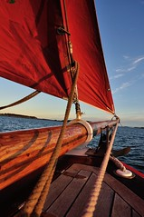 S/Y Mandalay (Arndted) Tags: sea sky water göteborg boat nikon sailing sweden gothenburg scout sail mandalay archipelago d90 skuta colinarcher symandalay