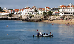 The Americas Cup Caiscais, Portugal (Cida Garcia) Tags: praia portugal sport america mar europe barcos paisagem litoral esporte veleiros caiscais yatchts theamericascup