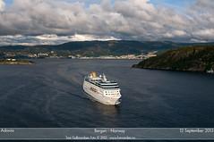 Adonia (Aviation & Maritime) Tags: cruise norway po cruiseship bergen adonia pocruises