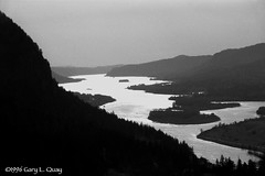 The Columbia River from the Angel's Rest Trail (Gary L. Quay) Tags: film oregon minolta columbia quay gary gorge imagery foolscape