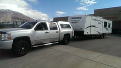 Leaving out with our brand new trailer (Jenni Reynolds-Kebler) Tags: flickrandroidapp:filter=none