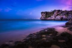 Balangan Beach (aldian.silalahi) Tags: blue sunset bali cliff beach rocks formation hour balangan silalahi aldian