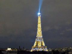 Paris: Eiffel Tower at Night (romanboed) Tags: city travel paris france tower night hotel europe royal eiffel pont leftbank