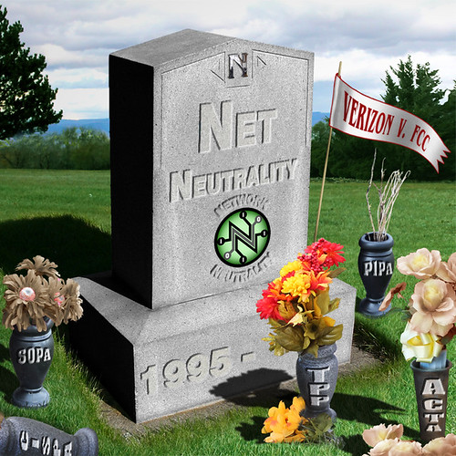 From flickr.com: Net Neutrality - Special Interests keep wishing for death {MID-141131}