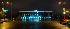 Akimat, Pavlodar (D. Filushin) Tags: city night town nightly kazakhstan pavlodar