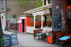 start-up (piktorio) Tags: street berlin germany restaurant scene startup kneipe openair gastronomy neukölln fotoautomat photoautomat calinago