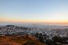 Sunrise at Twin Peaks (spieri_sf) Tags: sanfrancisco california morning sunrise twinpeaks 2013 flickr10 nikond7000 twinpeakssummit